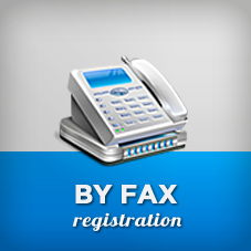 INSTRUCTIONS ABOUT REGISTRATION BY FAX
