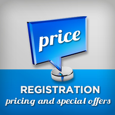 REGISTRATION PRICING AND CONDITIONS OF ENTRY