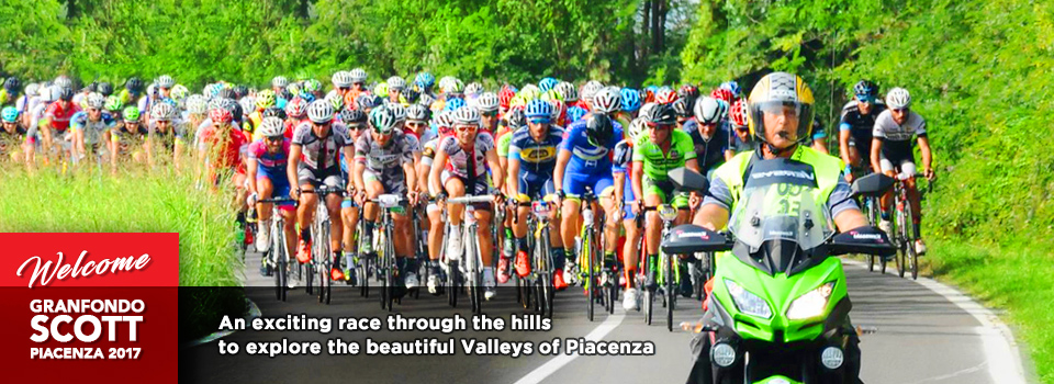An exciting race through the hills to explore the beautiful valleys of piacenza
